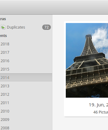 Photo Manager for elementary OS